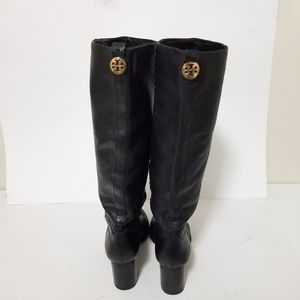 Tory Burch Shoes - Tory burch size 9 tall leather boots